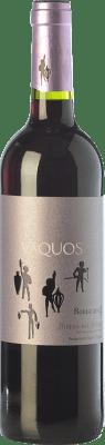 9,95 € Free Shipping | Red wine Vaquos Roble D.O. Ribera del Duero Castilla y León Spain Tempranillo Bottle 75 cl