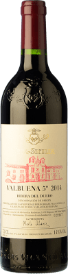 275,95 € Free Shipping | Red wine Vega Sicilia Valbuena 5º año Gran Reserva D.O. Ribera del Duero Castilla y León Spain Tempranillo, Merlot Magnum Bottle 1,5 L