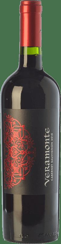 8,95 € Free Shipping | Red wine Veramonte Joven I.G. Valle de Colchagua Colchagua Valley Chile Cabernet Sauvignon Bottle 75 cl