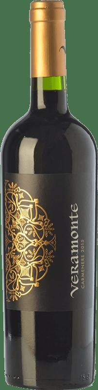 8,95 € Free Shipping | Red wine Veramonte Joven I.G. Valle de Colchagua Colchagua Valley Chile Carmenère Bottle 75 cl