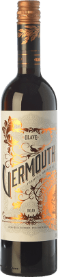 7,95 € Free Shipping | Vermouth Olave Rojo Catalonia Spain Bottle 75 cl