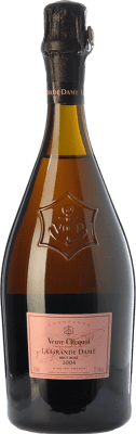 284,95 € Free Shipping   Rosé sparkling Veuve Clicquot La Grande Dame Rosé 2004 A.O.C. Champagne Champagne France Pinot Black, Chardonnay Bottle 75 cl   Thousands of wine lovers trust us to get the best price guarantee, free shipping always and hassle-free shopping and returns.