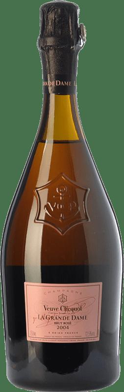 269,95 € Free Shipping | Rosé sparkling Veuve Clicquot La Grande Dame Rosé 2004 A.O.C. Champagne Champagne France Pinot Black, Chardonnay Bottle 75 cl