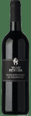 24,95 € Free Shipping | Red wine Vigna Petrussa D.O.C. Colli Orientali del Friuli Friuli-Venezia Giulia Italy Schioppettino Bottle 75 cl