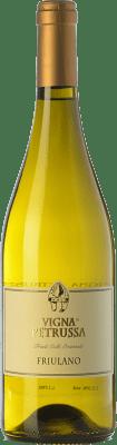 15,95 € Free Shipping | White wine Vigna Petrussa Friulano D.O.C. Colli Orientali del Friuli Friuli-Venezia Giulia Italy Tocai Friulano Bottle 75 cl