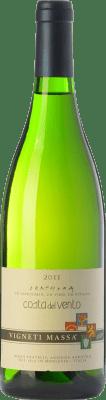 45,95 € Free Shipping | White wine Vigneti Massa Costa del Vento D.O.C. Colli Tortonesi Piemonte Italy Bacca White Bottle 75 cl