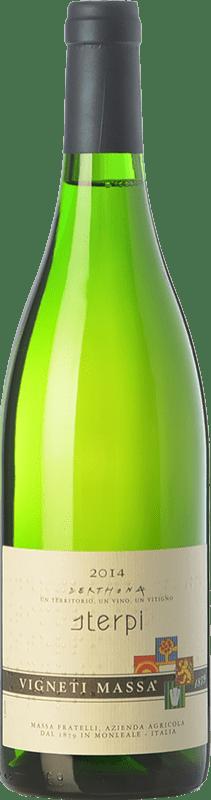 45,95 € Free Shipping | White wine Vigneti Massa Sterpi D.O.C. Colli Tortonesi Piemonte Italy Bacca White Bottle 75 cl