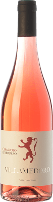 8,95 € Free Shipping | Rosé wine Villamedoro D.O.C. Cerasuolo d'Abruzzo Abruzzo Italy Montepulciano Bottle 75 cl