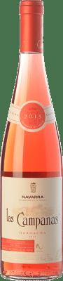 5,95 € Envío gratis | Vino rosado Vinícola Navarra Las Campanas D.O. Navarra Navarra España Garnacha Botella 75 cl