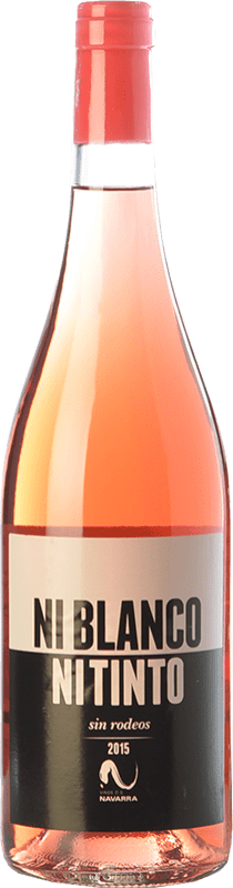 5,95 € Free Shipping | Rosé wine Vinícola Navarra Ni Blanco Ni Tinto D.O. Navarra Navarre Spain Grenache Bottle 75 cl