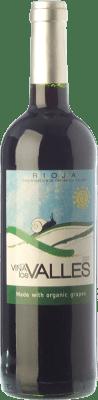6,95 € Free Shipping   Red wine Vinícola Real Viña los Valles Joven D.O.Ca. Rioja The Rioja Spain Tempranillo, Grenache Bottle 75 cl