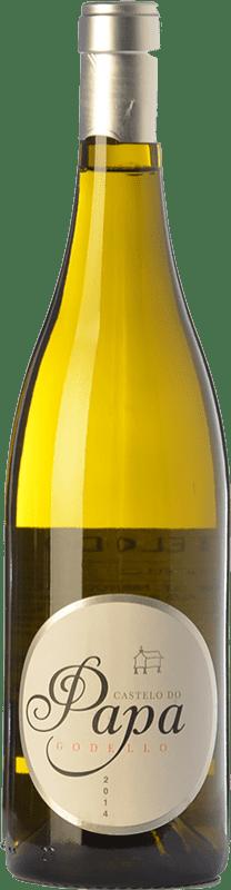 15,95 € Free Shipping | White wine Vinos del Atlántico Castelo do Papa D.O. Valdeorras Galicia Spain Godello Bottle 75 cl