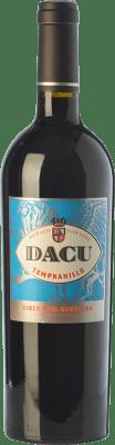 9,95 € Free Shipping | Red wine Vinos del Atlántico Dacu Joven D.O. Ribera del Guadiana Estremadura Spain Tempranillo Bottle 75 cl