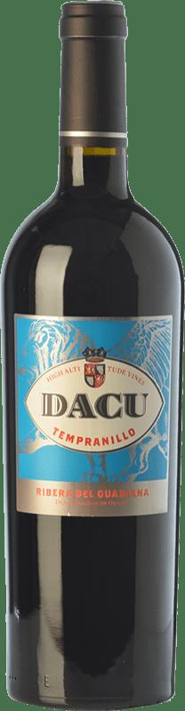 9,95 € Envoi gratuit | Vin rouge Vinos del Atlántico Dacu Joven D.O. Ribera del Guadiana Estrémadure Espagne Tempranillo Bouteille 75 cl