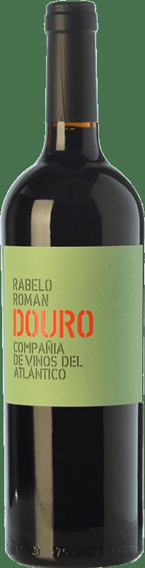 12,95 € Free Shipping | Red wine Vinos del Atlántico Rabelo Roman Crianza I.G. Douro Douro Portugal Touriga Franca, Touriga Nacional, Tinta Roriz Bottle 75 cl