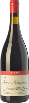 36,95 € Free Shipping | Red wine Vinos del Atlántico Sierra de la Demanda Crianza D.O.Ca. Rioja The Rioja Spain Tempranillo, Grenache, Viura Bottle 75 cl