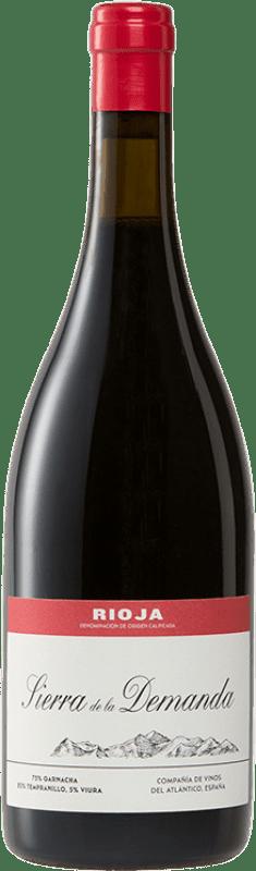 27,95 € Free Shipping | Red wine Vinos del Atlántico Sierra de la Demanda Crianza D.O.Ca. Rioja The Rioja Spain Tempranillo, Grenache, Viura Bottle 75 cl