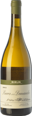 36,95 € Free Shipping | White wine Vinos del Atlántico Sierra de la Demanda Crianza D.O.Ca. Rioja The Rioja Spain Viura, Grenache White Bottle 75 cl