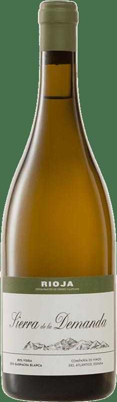 27,95 € Free Shipping | White wine Vinos del Atlántico Sierra de la Demanda Crianza D.O.Ca. Rioja The Rioja Spain Viura, Grenache White Bottle 75 cl