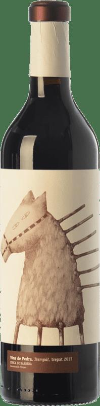 13,95 € Free Shipping | Red wine Vins de Pedra Trempat Crianza D.O. Conca de Barberà Catalonia Spain Trepat Bottle 75 cl