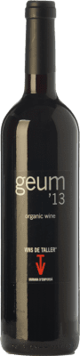 12,95 € Free Shipping | Red wine Vins de Taller Geum Joven Spain Merlot Bottle 75 cl