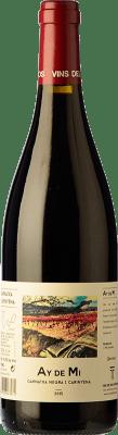 16,95 € Free Shipping | Red wine Vins del Tros Ay de Mi Crianza D.O. Terra Alta Catalonia Spain Syrah, Grenache Bottle 75 cl