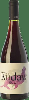 15,95 € Free Shipping | Red wine Vintae Chile Küdaw Nativo Crianza I.G. Valle del Maule Maule Valley Chile Tempranillo Bottle 75 cl