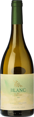 13,95 € Free Shipping | White wine Vinyes del Terrer Blanc D.O. Tarragona Catalonia Spain Muscat of Alexandria, Sauvignon White Bottle 75 cl