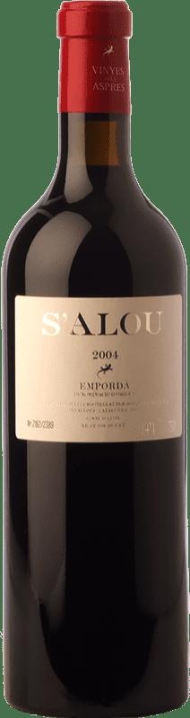 32,95 € Free Shipping | Red wine Aspres S'Alou Crianza D.O. Empordà Catalonia Spain Syrah, Grenache, Cabernet Sauvignon, Carignan Bottle 75 cl