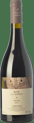 14,95 € Free Shipping | Red wine Aspres Xot Joven D.O. Empordà Catalonia Spain Syrah, Grenache, Cabernet Sauvignon Bottle 75 cl