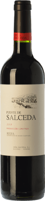 Vin rouge Viña Salceda Puente de Salceda Crianza 2010 D.O.Ca. Rioja La Rioja Espagne Tempranillo Bouteille 75 cl