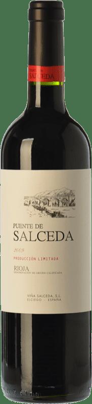 8,95 € Free Shipping | Red wine Viña Salceda Puente de Salceda Crianza D.O.Ca. Rioja The Rioja Spain Tempranillo Bottle 75 cl