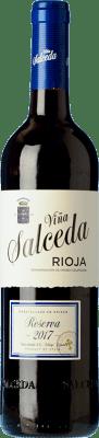 12,95 € Free Shipping | Red wine Viña Salceda Reserva D.O.Ca. Rioja The Rioja Spain Tempranillo, Graciano Bottle 75 cl