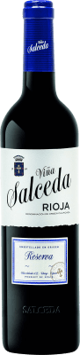 15,95 € Envoi gratuit | Vin rouge Viña Salceda Reserva 2011 D.O.Ca. Rioja La Rioja Espagne Tempranillo, Graciano Bouteille 75 cl