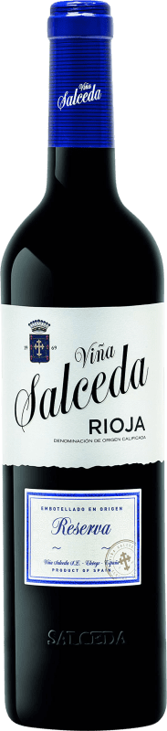 11,95 € Envoi gratuit   Vin rouge Viña Salceda Reserva D.O.Ca. Rioja La Rioja Espagne Tempranillo, Graciano Bouteille 75 cl