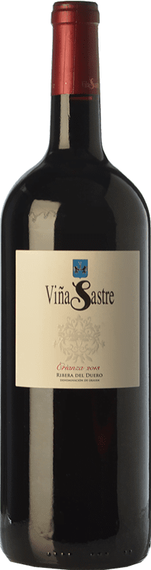 39,95 € Free Shipping | Red wine Viña Sastre Crianza D.O. Ribera del Duero Castilla y León Spain Tempranillo Magnum Bottle 1,5 L