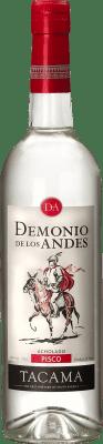 19,95 € Kostenloser Versand | Pisco Viña Tacama Acholado Demonio de los Andes Peru Flasche 70 cl