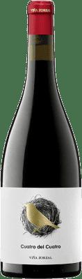 23,95 € Envoi gratuit | Vin rouge Viña Zorzal Cuatro del Cuatro Crianza D.O. Navarra Navarre Espagne Graciano Bouteille 75 cl