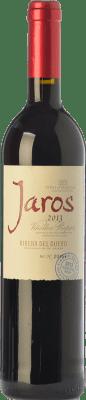 13,95 € Envío gratis | Vino tinto Viñas del Jaro Jaros Crianza D.O. Ribera del Duero Castilla y León España Tempranillo, Merlot, Cabernet Sauvignon Botella 75 cl