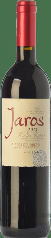 13,95 € Free Shipping | Red wine Viñas del Jaro Jaros Crianza D.O. Ribera del Duero Castilla y León Spain Tempranillo, Merlot, Cabernet Sauvignon Bottle 75 cl