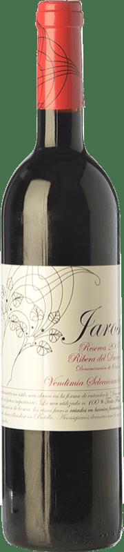 16,95 € Free Shipping | Red wine Viñas del Jaro Jaros Reserva D.O. Ribera del Duero Castilla y León Spain Tempranillo Bottle 75 cl