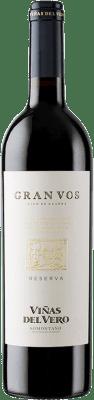 24,95 € Free Shipping | Red wine Viñas del Vero Gran Vos Reserva D.O. Somontano Aragon Spain Merlot, Cabernet Sauvignon Bottle 75 cl