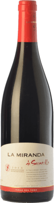 12,95 € Free Shipping | Red wine Viñas del Vero La Miranda de Secastilla Joven D.O. Somontano Aragon Spain Syrah, Grenache, Parraleta Bottle 75 cl