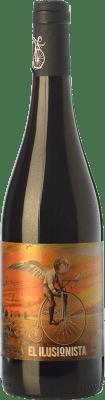 9,95 € Envío gratis | Vino tinto Viñedos de Altura Ilusionista Roble D.O. Ribera del Duero Castilla y León España Tempranillo Botella 75 cl