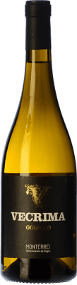 8,95 € Envío gratis | Vino blanco Viñedos de Altura Vecrima D.O. Monterrei Galicia España Godello Botella 75 cl