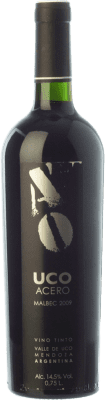 13,95 € Free Shipping | Red wine Valle de Uco Acero Joven I.G. Valle de Uco Uco Valley Argentina Malbec Bottle 75 cl