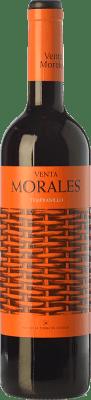 5,95 € Kostenloser Versand | Rotwein Volver Venta Morales Joven D.O. La Mancha Kastilien-La Mancha Spanien Tempranillo Flasche 75 cl