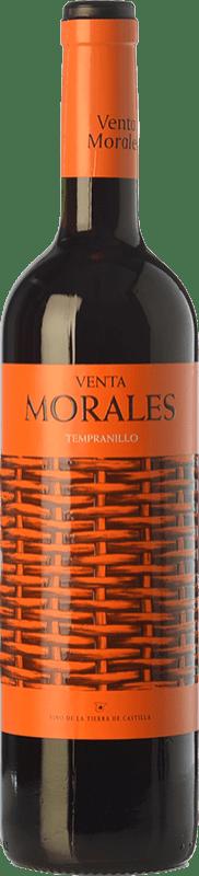 5,95 € Envío gratis | Vino tinto Volver Venta Morales Joven D.O. La Mancha Castilla la Mancha España Tempranillo Botella 75 cl