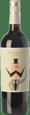 5,95 € Kostenloser Versand | Rotwein Volver Wrongo Dongo Joven D.O. Jumilla Kastilien-La Mancha Spanien Monastrell Flasche 75 cl