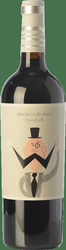5,95 € Envío gratis | Vino tinto Volver Wrongo Dongo Joven D.O. Jumilla Castilla la Mancha España Monastrell Botella 75 cl